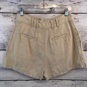 Free People Shorts - Free People High Rise Pleated Shorts Womens Small